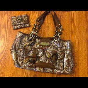 Sharif handbag with matching wallet